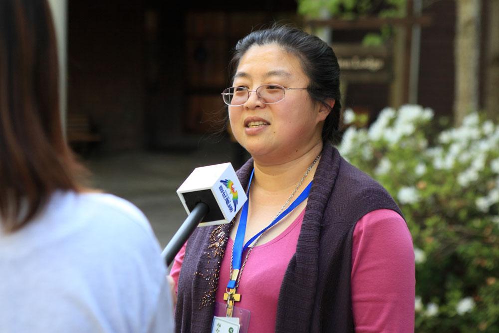 藍慧娟 參與教會代表