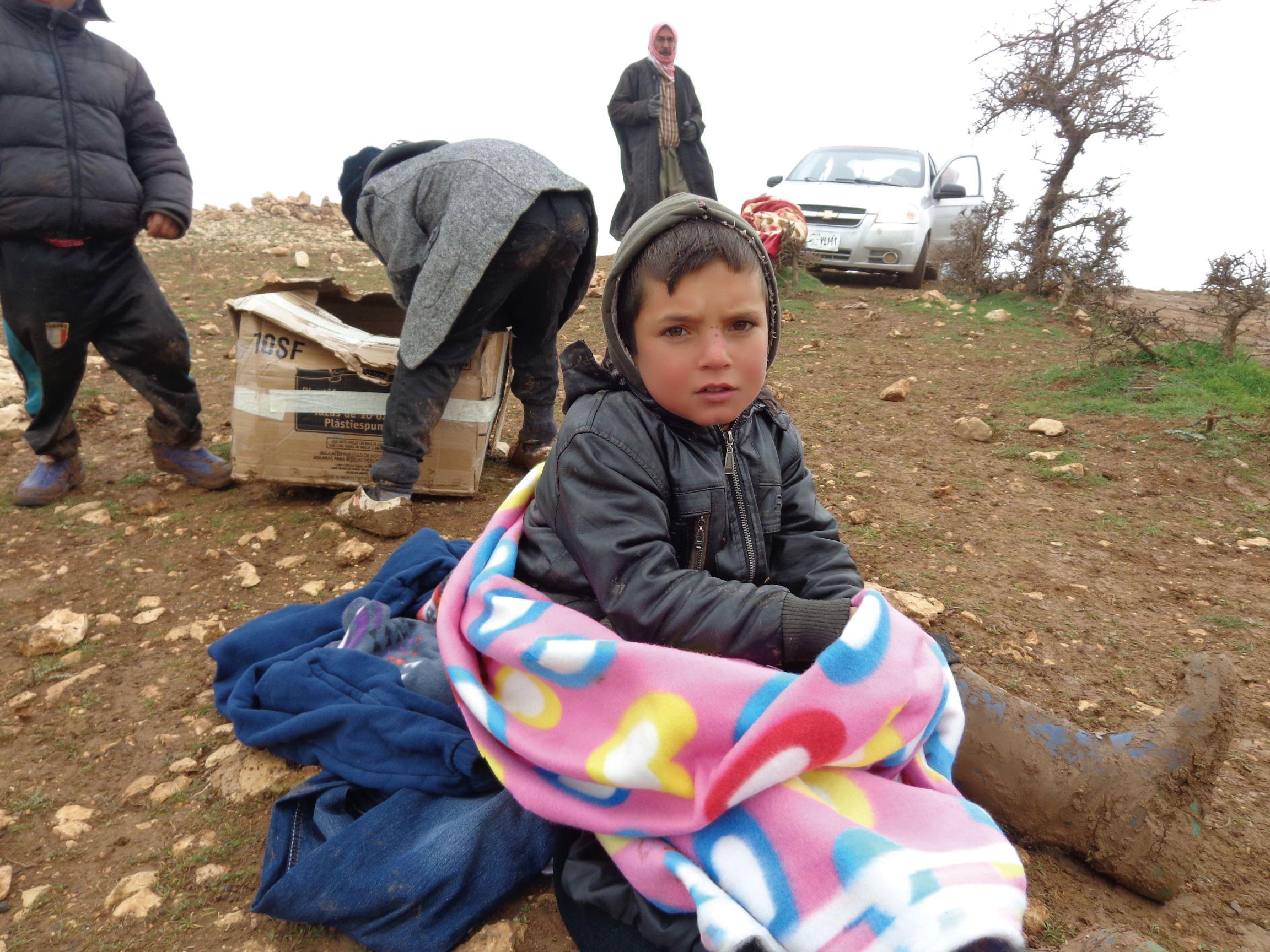 ISIS受害兒童