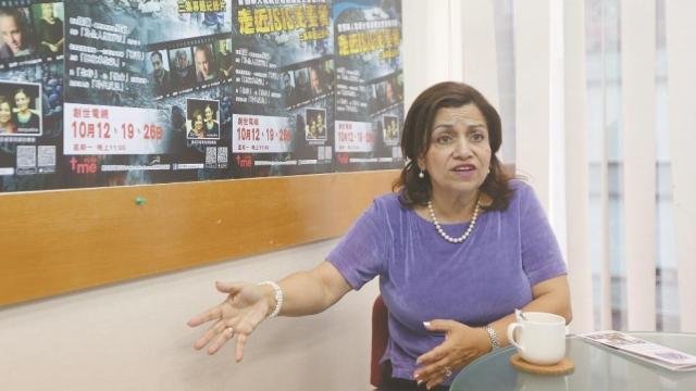 埃及裔人道學博士Yvette Isaac希望全世界包括華人協助受IS迫害的伊拉克人。