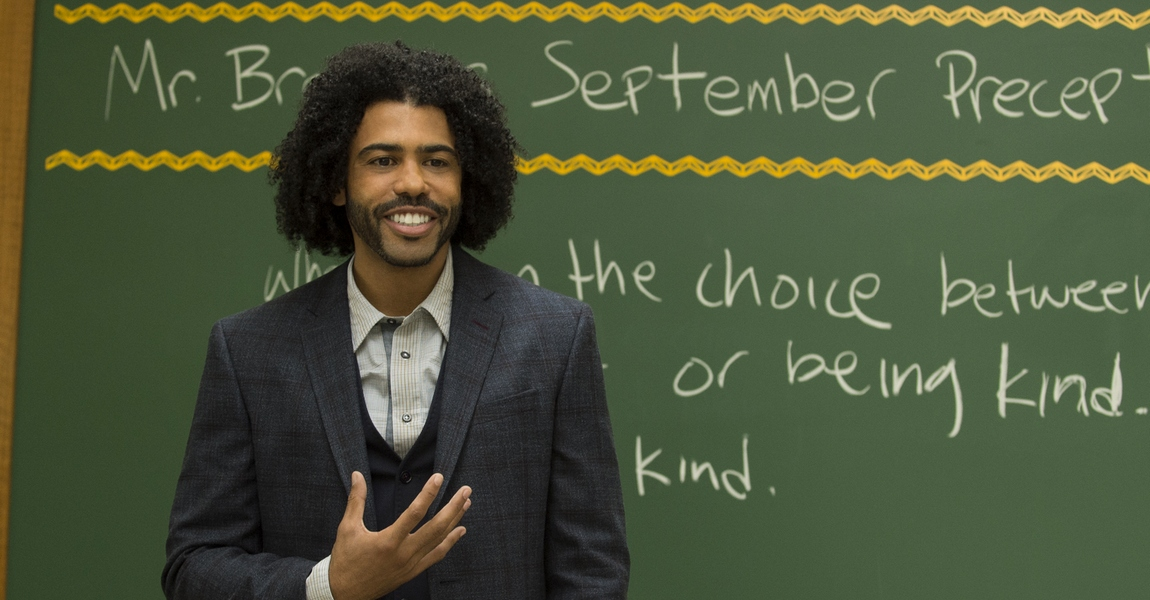 "Daveed Diggs as ""Mr.Browne"" in WONDER. Photo by Dale Robinette."