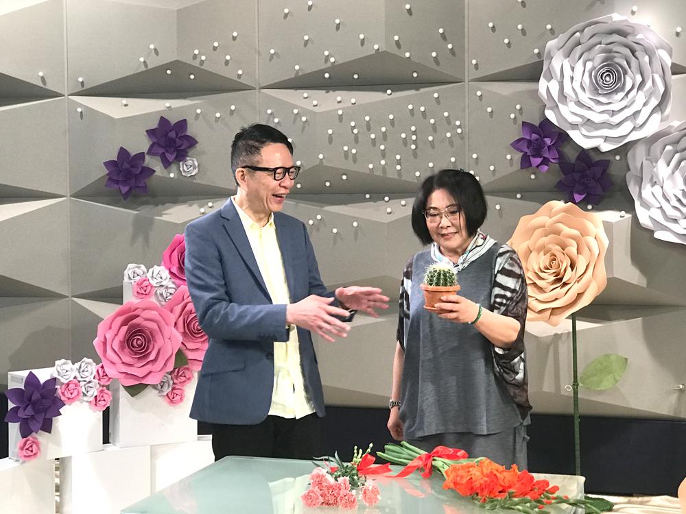 李司棋接受創世電視節目《當家好媽》主持葉家寶訪問。