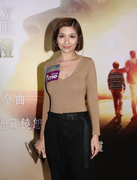 演藝人黃泆潼分享電影主角的故事與自己童年背景相似,電影別具意義