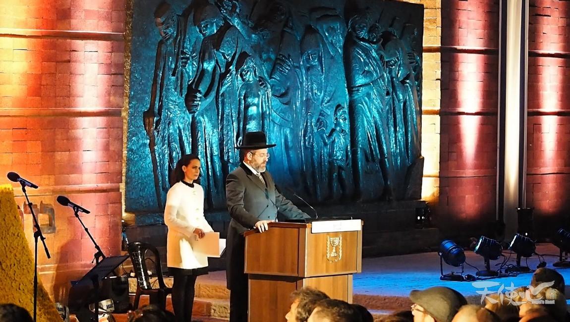 以色列大拉比帶領民眾讀《詩篇》