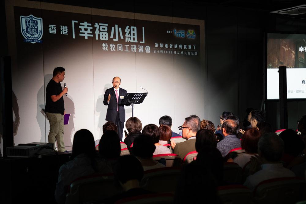 楊錫儒牧師多番強調教會的存在目的就是傳福音。