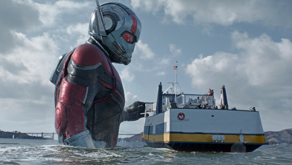 Marvel Studios ANT-MAN AND THE WASP..Giant-Man/Scott Lang (Paul Rudd)..Photo: Film Frame..©Marvel Studios 2018